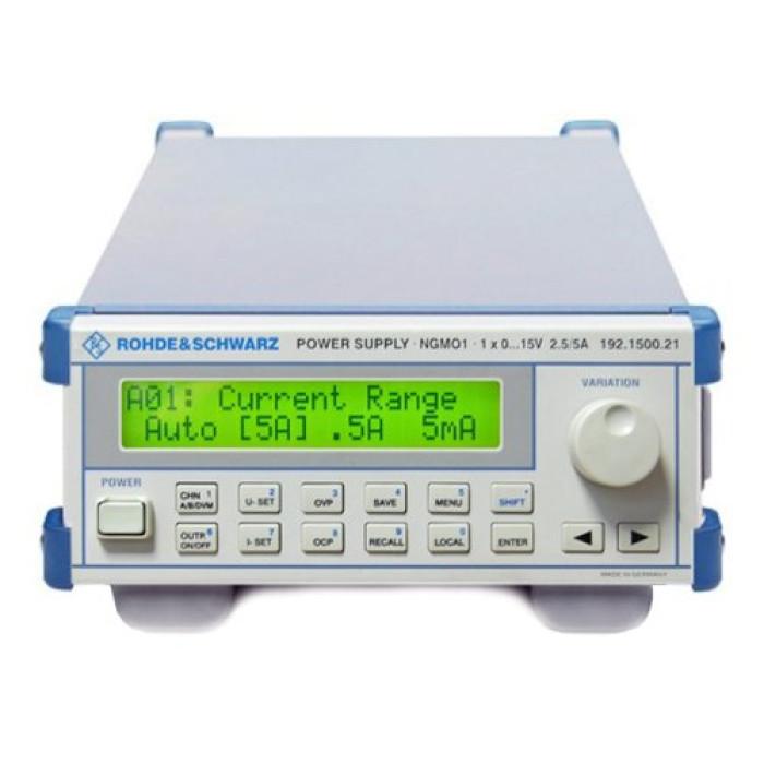 Одно и двух канальный анализатор/источник питания Rohde-Schwarz NGMO1
