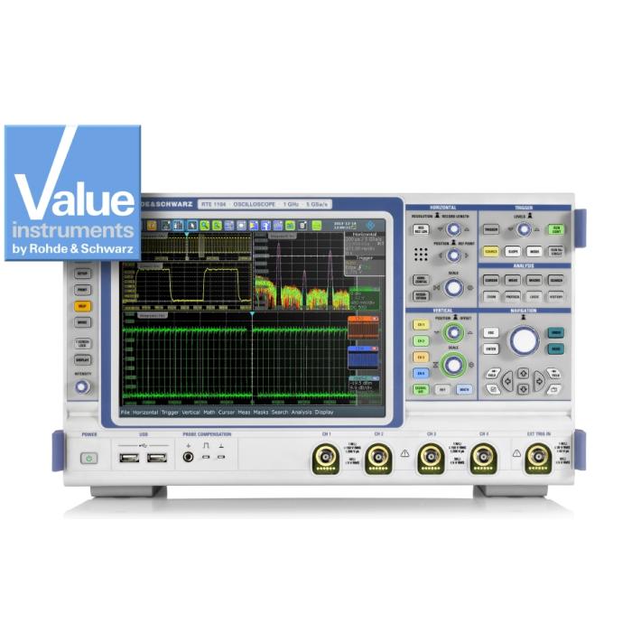 Цифровой осциллограф RTE1152 от Rohde & Schwarz