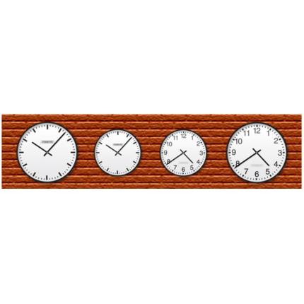 Аналоговые настенные часы Wall Clocks от Meinberg