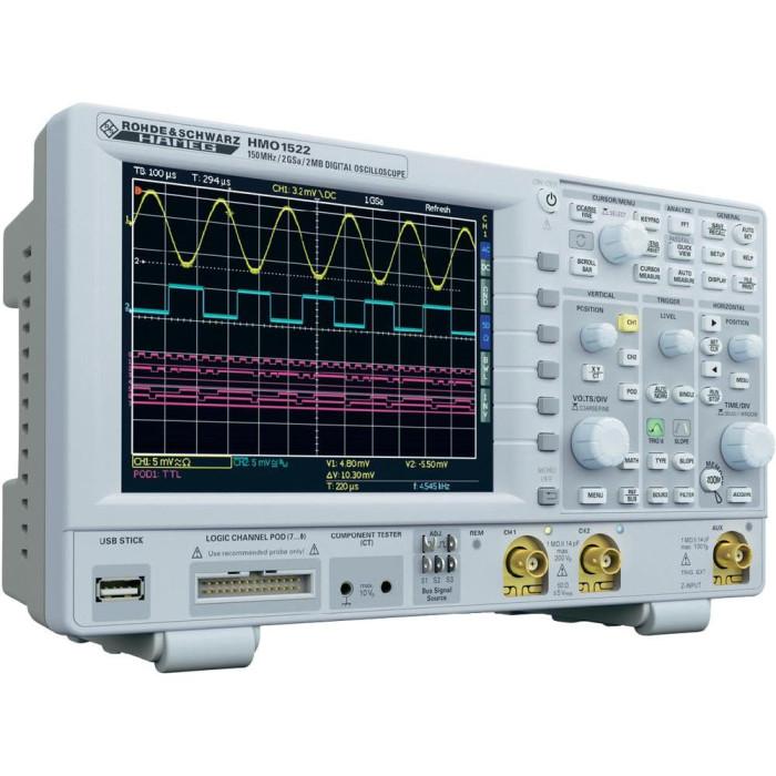 Цифровой осциллограф HAMEG HMO1522