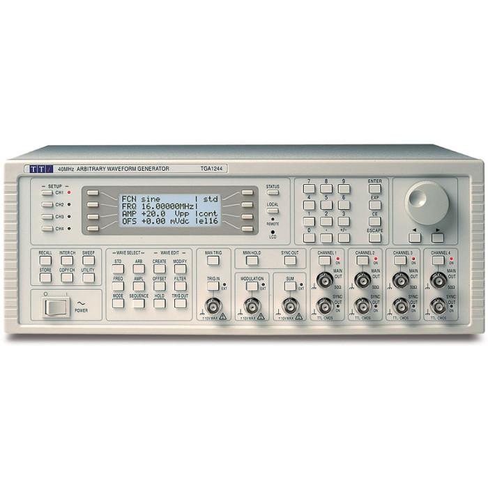 Универсальный генератор сигналов произвольной формы TGA1244 от Aim-TTi
