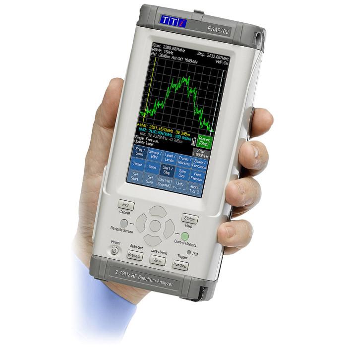 Анализатор радиочастотного спектра PSA2702USC от Aim-TTi