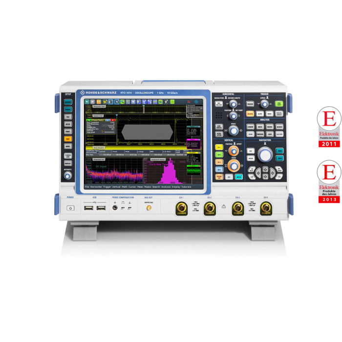 Цифровой осциллограф RTO1004 от Rohde & Schwarz