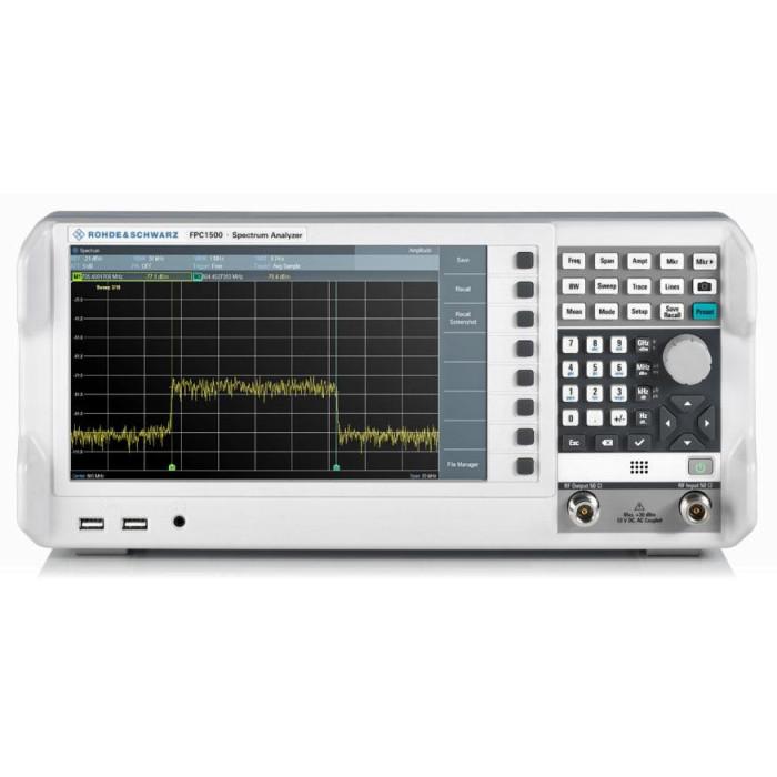 Анализатор спектра и сигналов FPC1500 от Rohde & Schwarz