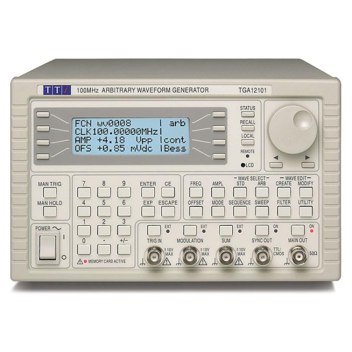 Универсальный генератор сигналов произвольной формы TGA12102 от Aim-TTi