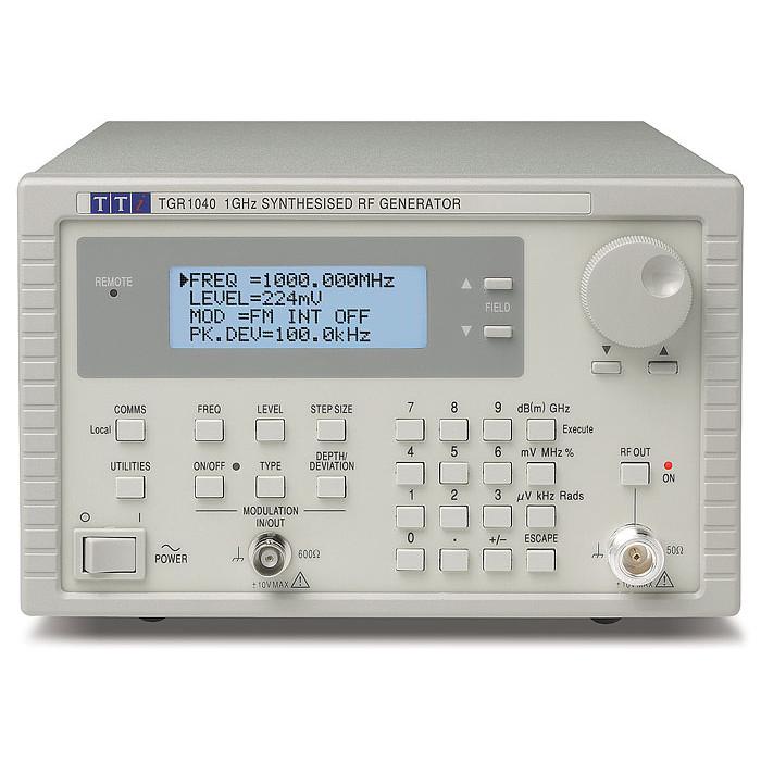 Генератор радиочастотных сигналов TGR1040GP от Aim-TTi