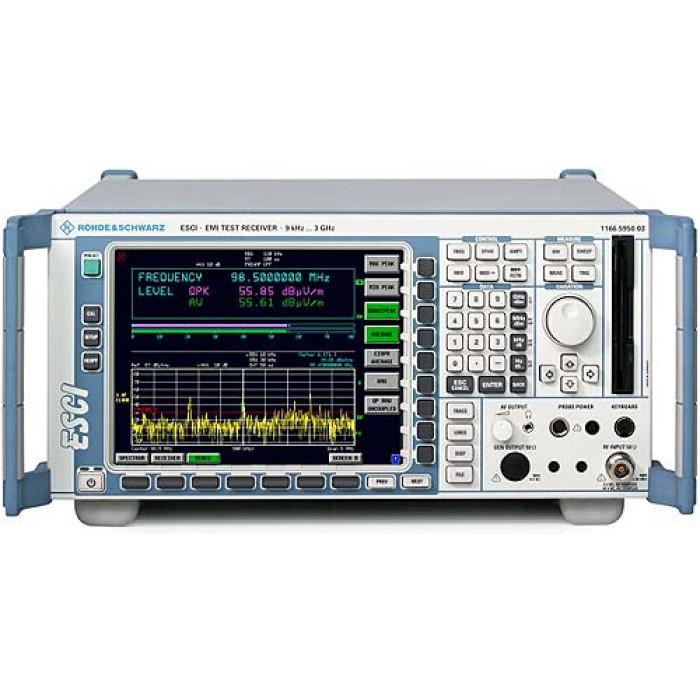 Тестовый приемник электромагнитных помех Rohde & Schwarz ESCI3