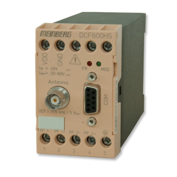 DCF77-радиочасы DCF600HS от Meinberg