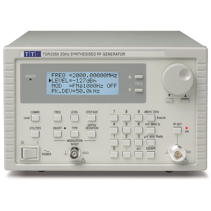 Генератор радиочастотных сигналов TGR2050 от Aim-TTi