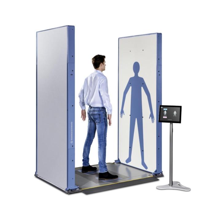 Досмотровый сканер безопасности (Full Body Scanner) R&S QPS201