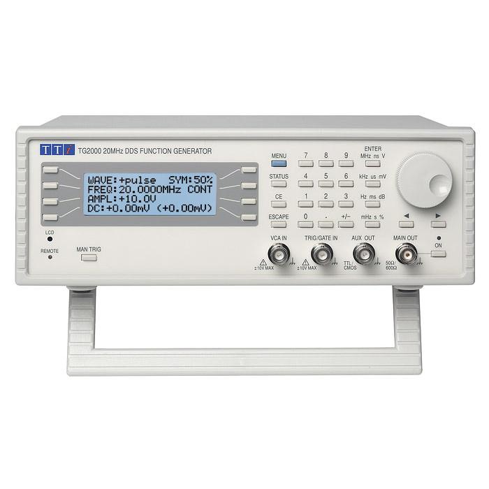 Функциональный генератор сигналов TG2000 от Aim-TTi