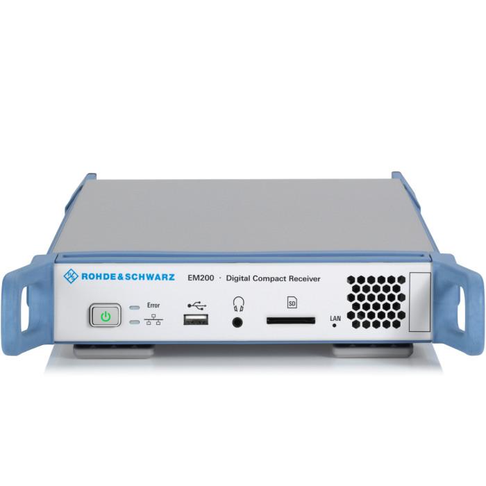 Цифровой компактный приемник EM200 от Rohde & Schwarz
