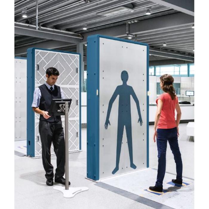 Досмотровый сканер безопасности (Full Body Scanner) R&S QPS100