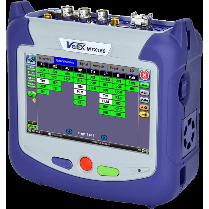 Многофункциональный тестер MTX150 от VeEX
