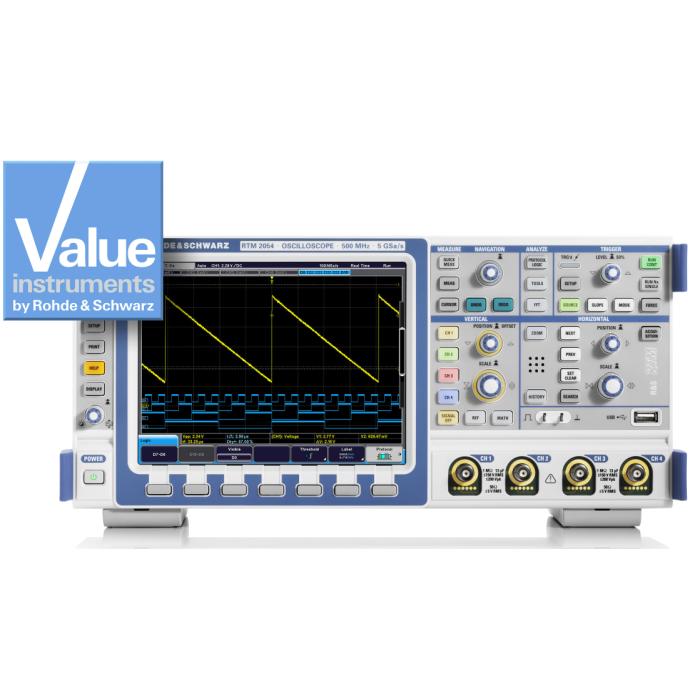 Цифровой осциллограф RTM2102 от Rohde & Schwarz