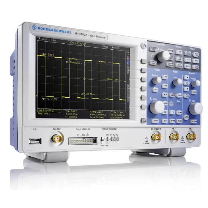 Цифровой осциллограф RTC1002 серии RTC1000 от Rohde & Schwarz