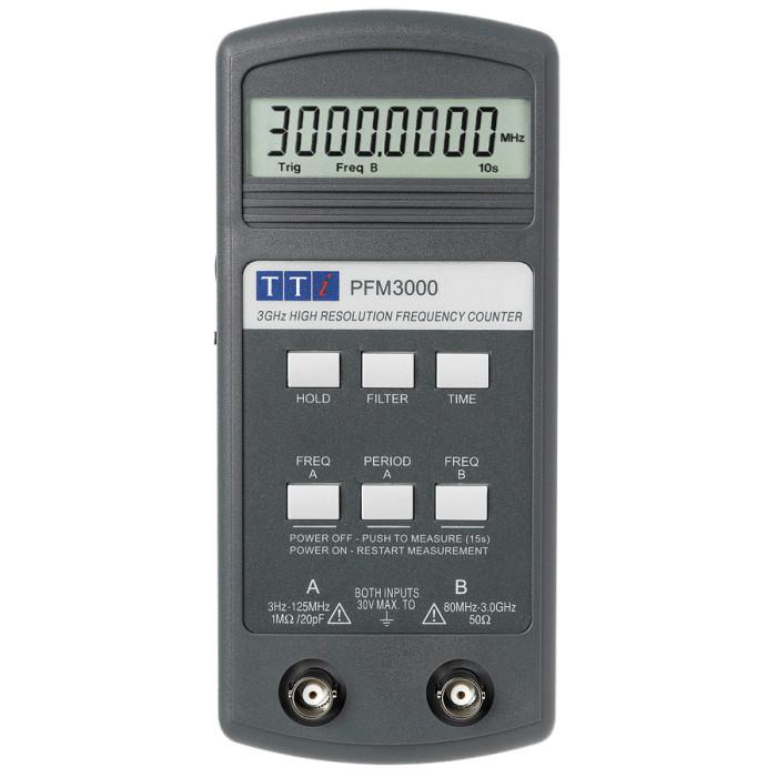 Частотомер (счетчик частоты) PFM3000 от Aim-TTi
