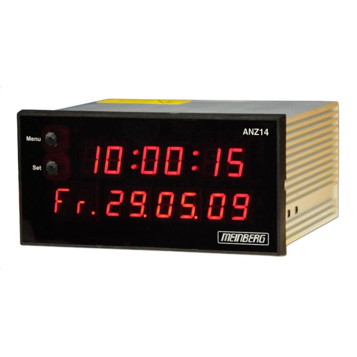 Автономные радиочасы (DFC77) или вторичные NTP-часы ANZ14 от Meinberg