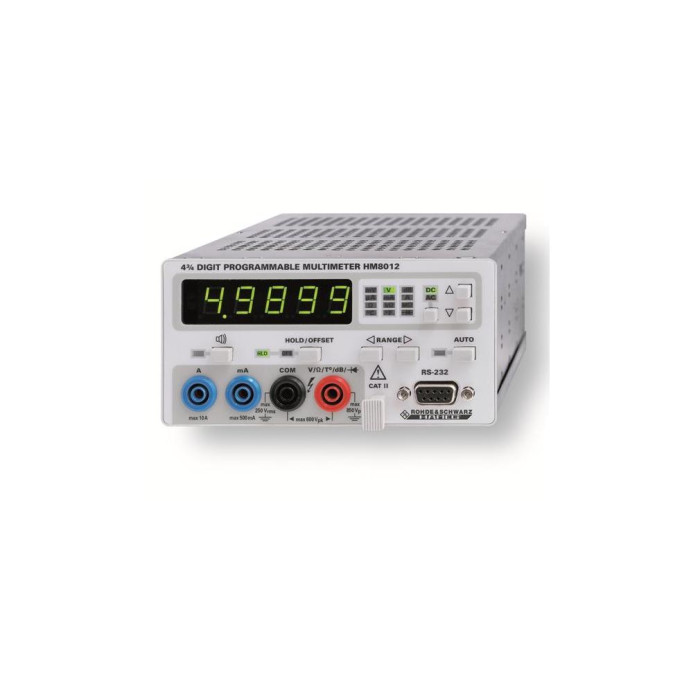 Мультиметр универсальный HM8012