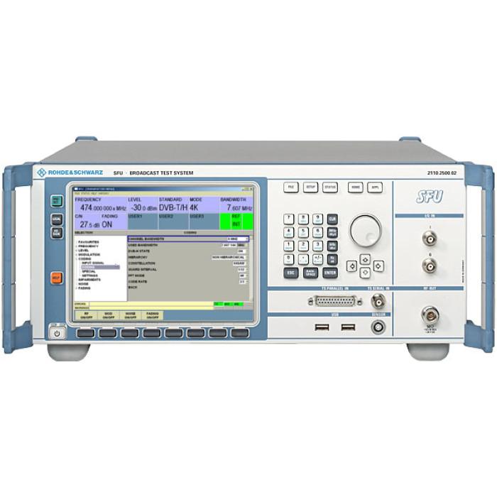 Система тестирования вещательного оборудования Rohde & Schwarz SFU