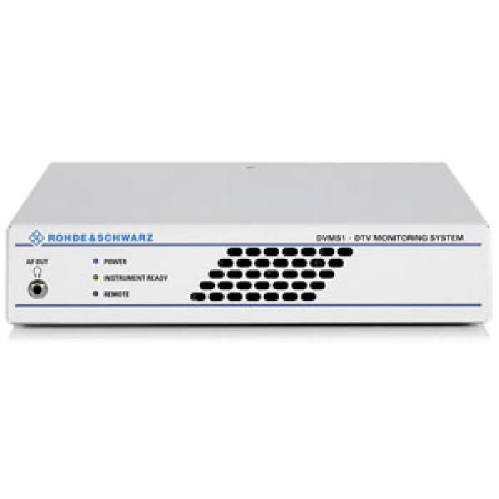 Семейство систем мониторинга цифрового ТВ Rohde & Schwarz DVMS1
