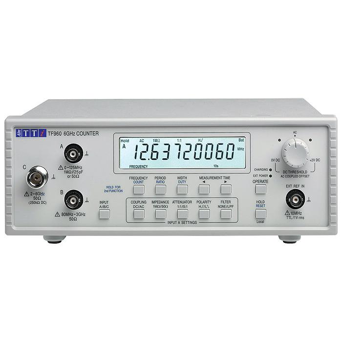 Частотомер (счетчик частоты) TF960 от Aim-TTi