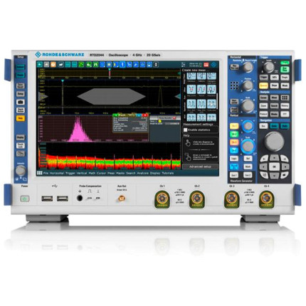 Цифровой осциллограф RTO2034 от Rohde & Schwarz