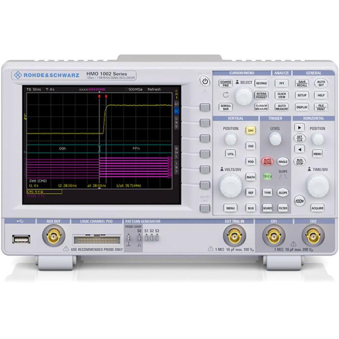Цифровой осциллограф  Rohde & Schwarz HMO1002 50 МГц