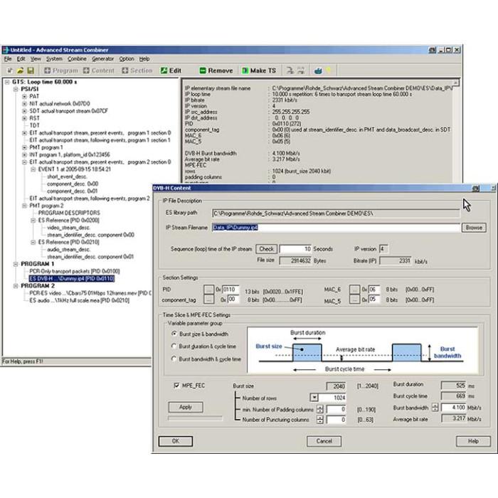 Улучшенный объединитель потоков Rohde & Schwarz DV-ASC
