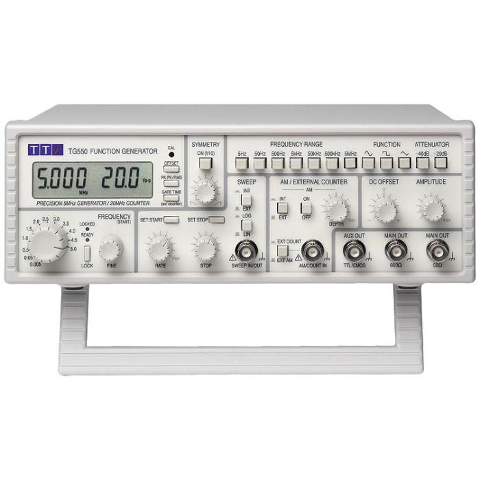 Аналоговый генератор TG550 от Aim-TTi