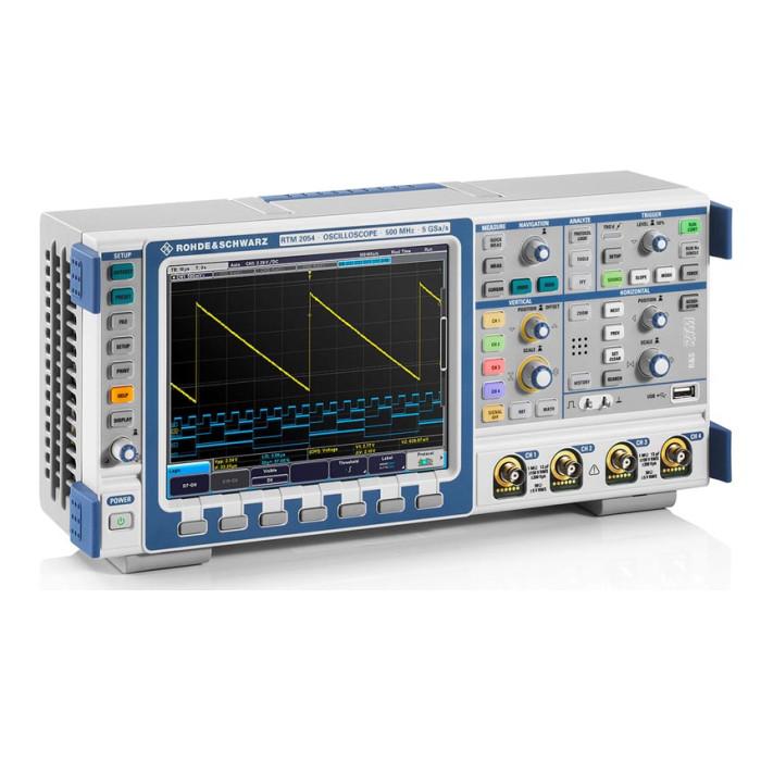 Цифровой осциллограф RTM2054 от Rohde & Schwarz
