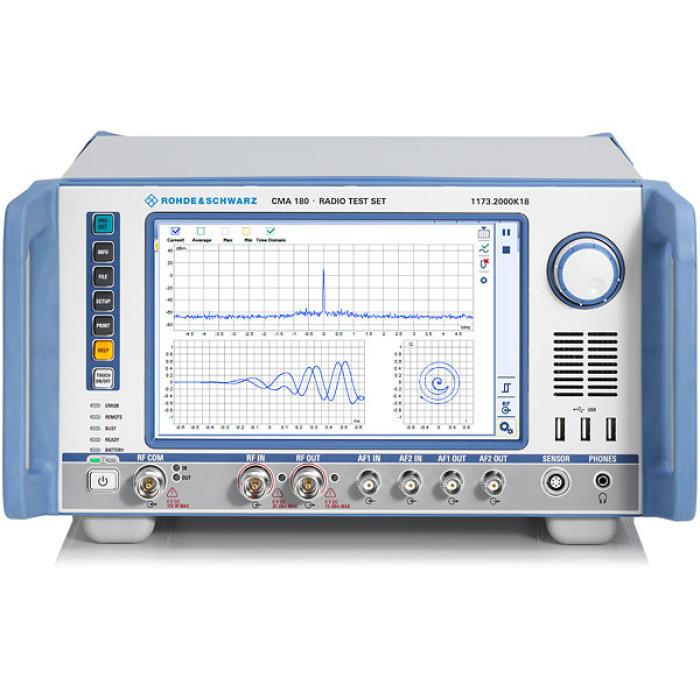Универсальный тестер радиостанций CMA180 от Rohde & Schwarz