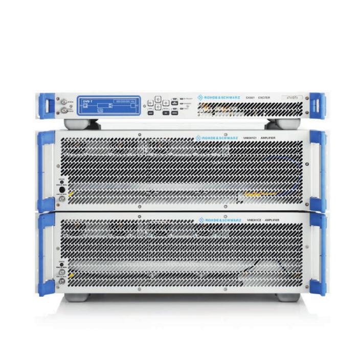 ТВ передатчики УВЧ-диапазона семейства Rohde & Schwarz SCV8000