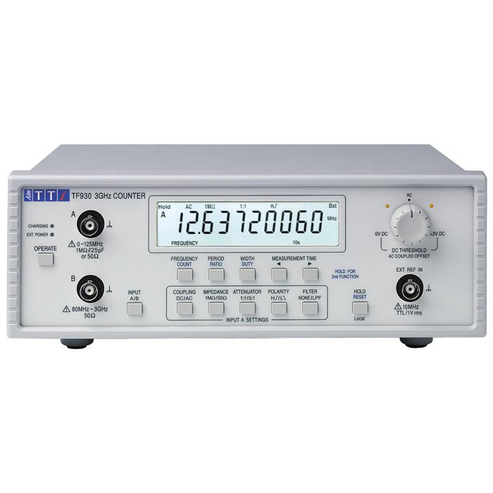 Частотомер (счетчик частоты) TF930 от Aim-TTi