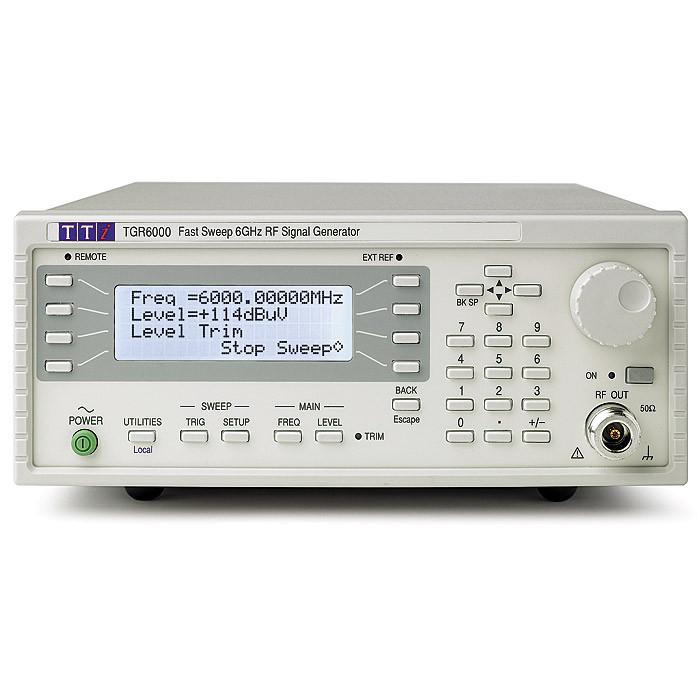 Генератор радиочастотных сигналов TGR6000 от Aim-TTi