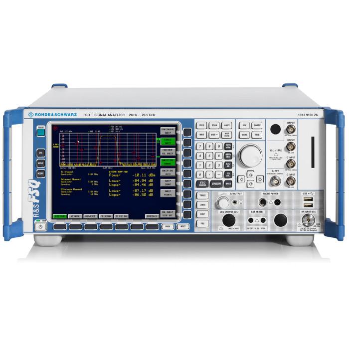 Анализатор сигналов и спектра Rohde & Schwarz FSQ26