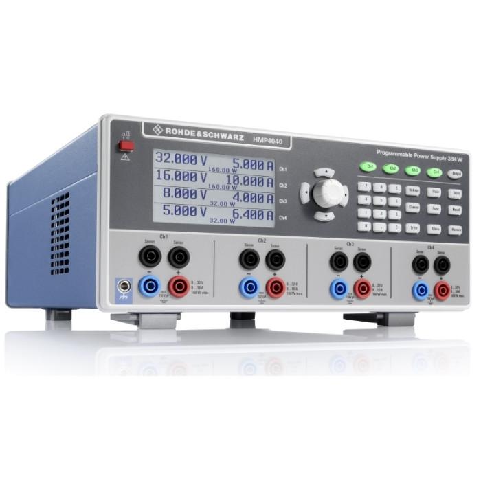 Лабораторный четырехканальный источник питания HMP4040 от Rohde & Schwarz